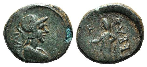 obverse: Augustus (27 BC-AD 14). Troas, Ilium. Æ