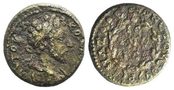 obverse: Commodus (177-192). Cilicia, Anazarbus. Æ