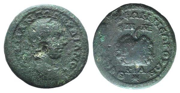 obverse: Gordian III (238-244). Macedonia, Thessalonica. Æ