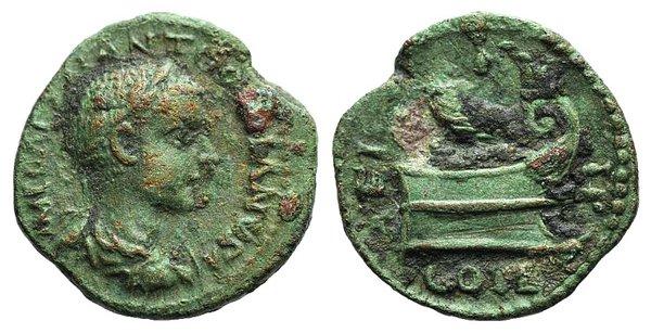 obverse: Gordian III (238-244). Thrace, Coela. Æ