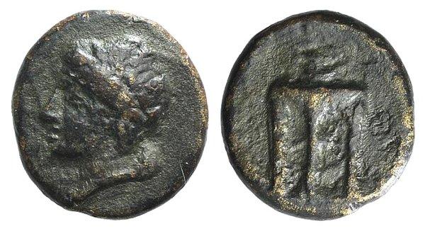 obverse: Sicily, Syracuse, after 212 BC. Æ