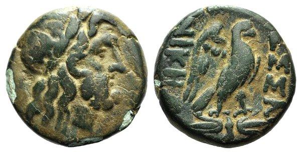 obverse: Macedon, Thessalonica, c. 187-31 BC. Æ