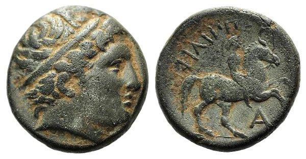obverse: Kings of Macedon, Philip II (359-336 BC). Æ Unit