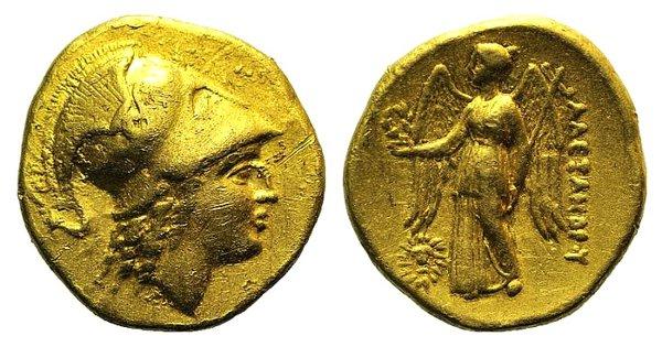 obverse: Kings of Macedon, Alexander III 'the Great' (336-323 BC). AV Stater