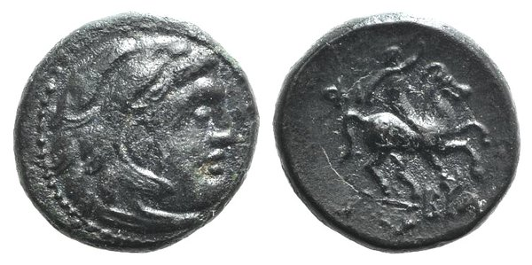 obverse: Kings of Macedon, Philip III (323-317 BC). Æ