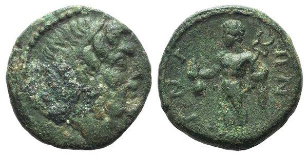 obverse: Thrace, Ainos, 2nd-1st centuries BC. Æ