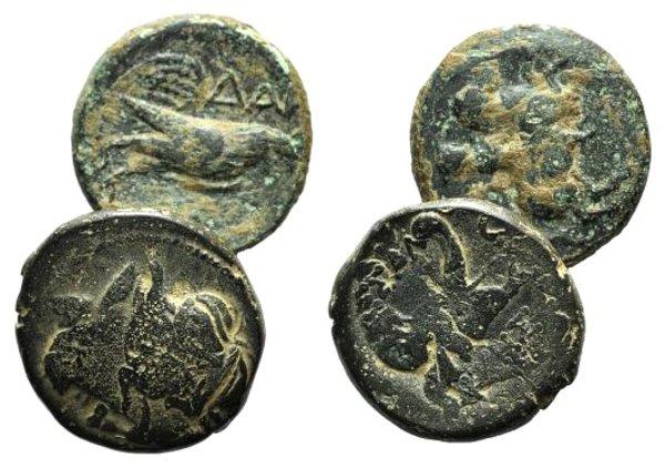 obverse: Lot of 2 Greek Æ coins