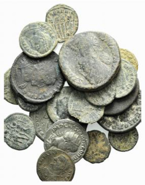 obverse: Lot of 20 Roman Imperial coins