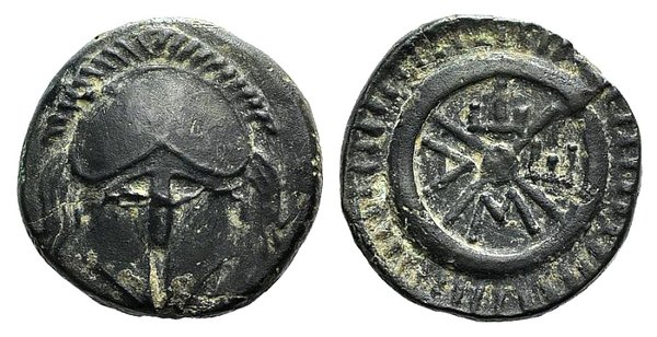 obverse: Thrace, Mesambria, c. 275/50-175 BC. Æ