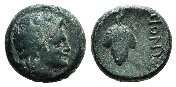 obverse: Moesia Inferior, Dionysopolis, 3rd-1st centuries BC. Æ