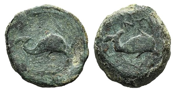 obverse: Apulia, Salapia, c. 275-250 BC. Æ