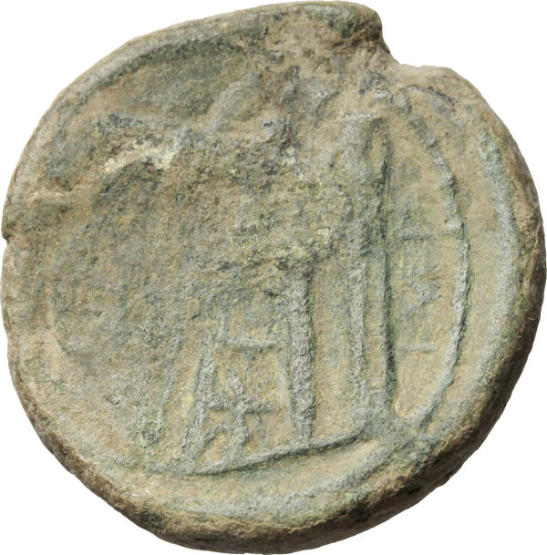 Reverse image of coin 18
