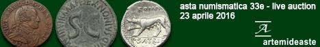 Banner Asta Artemide 33E - Monete da collezione