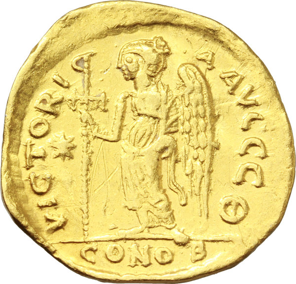 Reverse image of coin 448