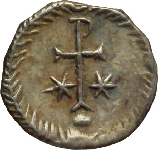 Reverse image of coin 458