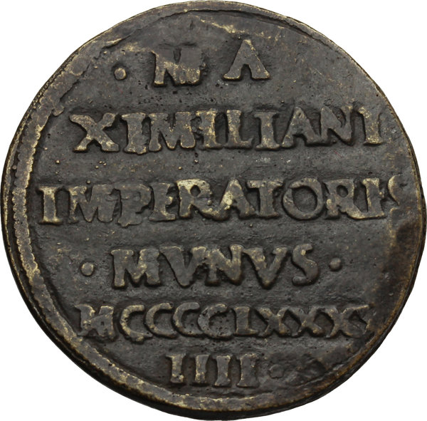 Reverse image of coin 529