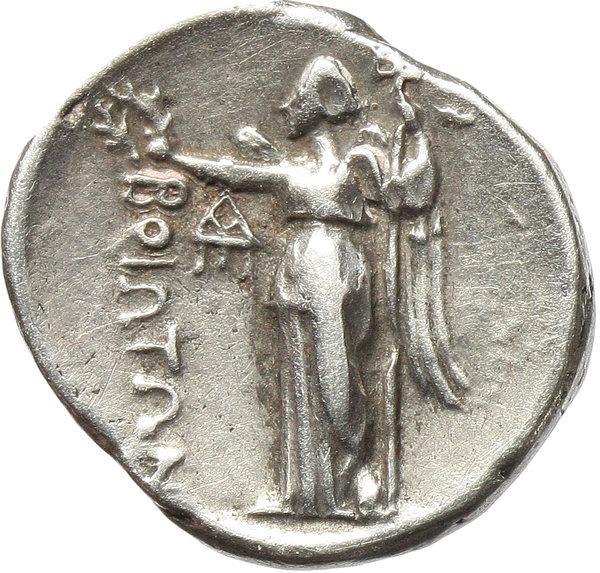 Reverse image of coin 72
