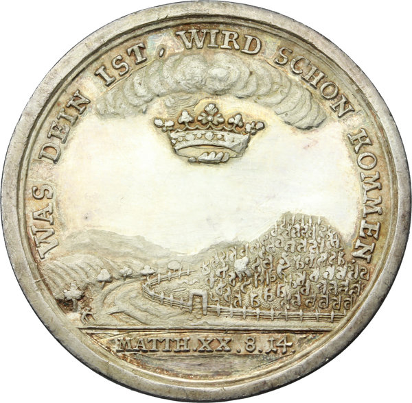 Reverse image of coin 831