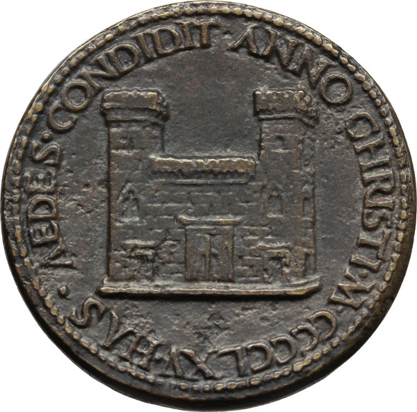 Reverse image of coin 916