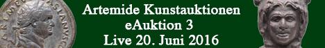 Banner Antike Münzen und Kunst - E3