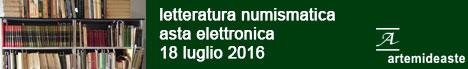 Banner Artemide Aste - Letteratura numismatica