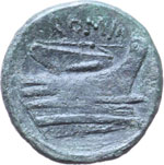 Reverse image of coin 7153