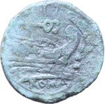Reverse image of coin 7162