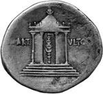 Reverse image of coin 7280