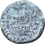 Reverse image of coin 7284