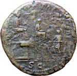 Reverse image of coin 7291