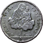 Reverse image of coin 7461