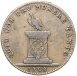 Reverse image of coin 7635