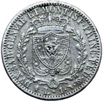 Reverse image of coin 7638