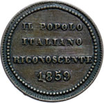 Reverse image of coin 7643