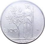 Reverse image of coin 7692