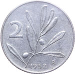 Reverse image of coin 7695