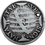Reverse image of coin 7701