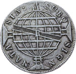 Reverse image of coin 7707