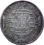 Reverse image of coin 7708