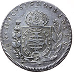 Reverse image of coin 7710