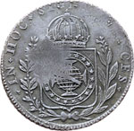 Reverse image of coin 7711
