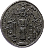 Reverse image of coin 7818