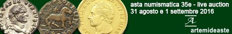 Banner Artemide Aste - Asta Numismatica 35E