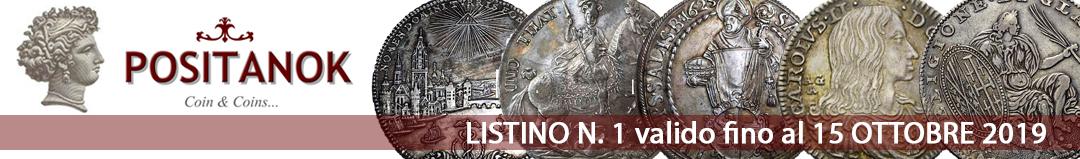 Banner POSITANOK - Listino di vendita 1