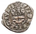 D/ Oriente Latino - Thebe.Guido II de la Roche (1287-1308).Denaro.Schl. tav. XIII,9 Gamb. 239.MI.g. 0.85.BB+. Patina