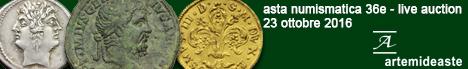 Banner Artemide - Asta numismatica 36E