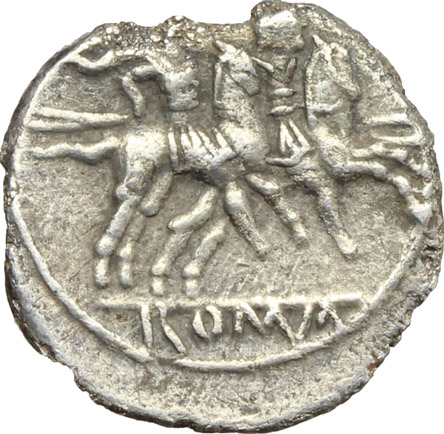 Reverse image of coin 333