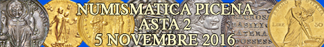 Banner Numismatica Picena - Asta numismatica 2