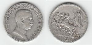 D/ SAVOIA, Vittorio Emanuele III (1900-1945) 2 Lire 1916 Gigante 103 BB