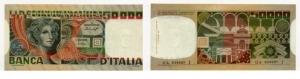 D/ REPUBBLICA ITALIANA - 50000 lire Volto di donna, 3 Decreti 12/06/1978 serie OA-639007-J rarissima FDS